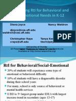 2010 NASP Behavioral RtI Slides