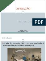 Aula 03 - Sala de Operação