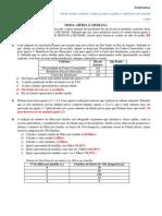 Exercícios de Estatística (1)