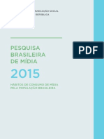 Pesquisa Brasileira de Midia 2015