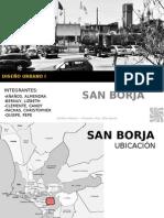 Analisis Urbano del distrito San Borja