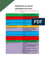 CRONOGRAMA - Depto de Inglés.doc