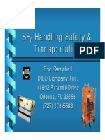 SF6 Transporation and Safety