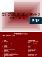ob case studies with solutions