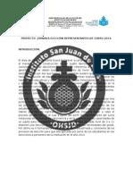 Proyecto Jornada Elección Representantes de Curso 2014