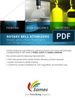 2012 Rotary Bell Atomizers