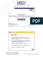 PRINCE2 Presentation - SMP Workshop Oct08 FR