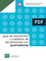 Quemados Junta Andalucia Paciente
