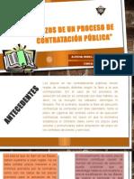 Plazos de Un Proceso de Contratación Pública