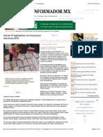 03-02.-15 Suman 37 Legisladores Con Licencia Por Elecciones 2015