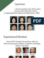 iv  expression of emotion