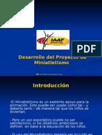 Proyecto de Desarrollo Atletismo