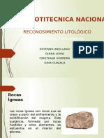 Reconocimiento Litológico