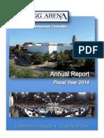 Kellogg Arena FY2014 report