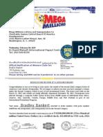 Bradley Bankert Official Letter