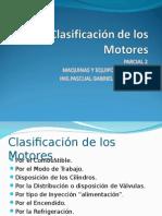 Clasificacion de Motores