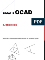 Ejercicios Autocad PDF