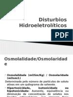 Disturbios Hidroeletroliticos