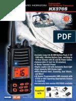 VHF Standard Horizon HX370S