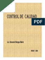 Control de Calidad de Biopreparados