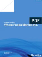 Whole Foods Market Inc. SWOT Analysis