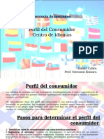 Perfil Del Consumidor Daniel Calles