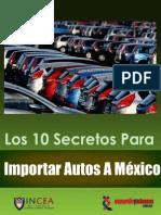 Guia para importar autos a mexico