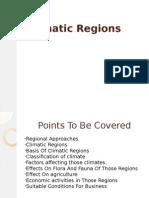 Climatic Regions
