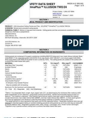 Msds 41 300 003 Material Safety Data Sheet Dangerous Goods