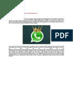 Jan Koum - números Fundador WhatsApp de 0