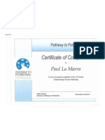 pathway to potential certificate