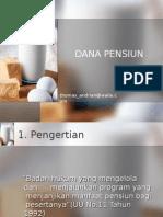 Dana Pensiun II