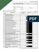 Inspection Checklist Format