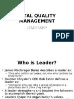 Tqm 02 Leadership
