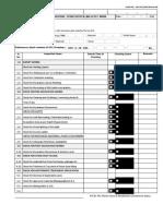 Inspection Checklist Format -Excavation, Stone Dust Filling & Pcc