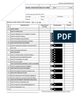 Inspection Checklist Format -Excavation, Stone Dust Filling & Pcc