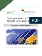 El Sector de Energia Solar