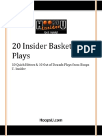 20 Hoops U Insider Basketball Plays