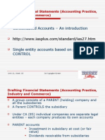 Drafting Financial Statements (Accounting Practice, Industry And
