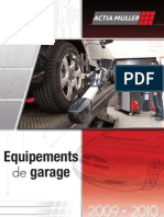 Catalogue ACTIA MULLER Equipement Garage