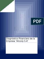Diagnóstico Financiero de La Empresa ALICORP