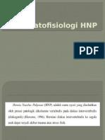 Patofisiologi HNP