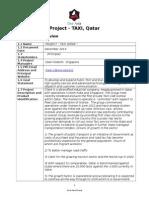 Im Charter QATAR Project [ logistics ]
