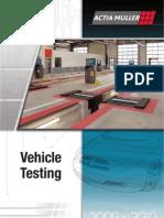 Leaflet ACTIA MULLER Vehicle Testing