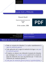 Resolución Sdl y Prolog