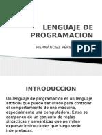 Lenguaje dea Programacion