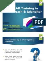 Matlab Training in Jalandhar