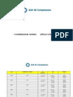 Compressor Cross References