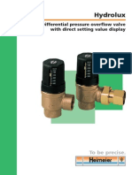 Differential Pressure Overflow Valve