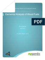 Elemental Analysis Wood Fuel
